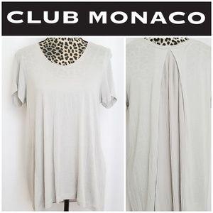 Club Monaco Tan Blouse